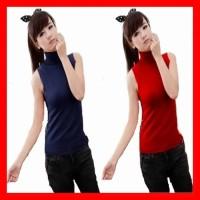 Kaos Polos Hitam Baju Atasan Wanita Blouse Korea