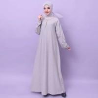 BerandaFashion Muslim Dress Gamis Baju Gamis Wanita Gamis Jumbo Polos