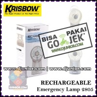 KRISBOW - LAMP EMERGENCY 2805 / LAMPU KIPAS ANGIN DARURAT JUMBO