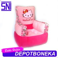 Sofa kotak karakter boneka / kartun hello kitty polkadot
