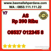 Nomor Cantik AS Urut Naik 012345 08537 012345 8 V10 R13