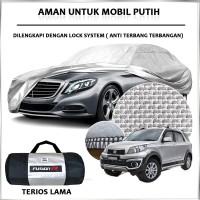 Cover Mobil / Sarung Mobil TERIOS Merk FUSION R / Cover Mobil Putih