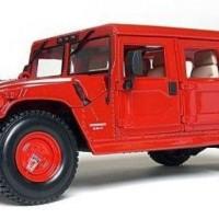 Diecast Maisto Hummer 1/18 - Red