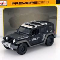 Diecast Maisto Hummer 1/18 - SWAT Black