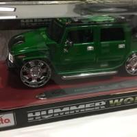 Diecast Maisto Hummer 1/18 - Green Metallic