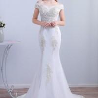 Gaun Pengantin 1810017 Putih Sabrina Wedding Gown