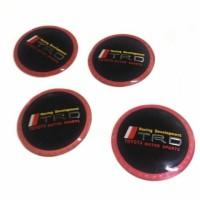 Emblem Dop Velg Mobil TRD untuk Toyota Universal 1pc