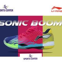 BIG PROMO !! Sepatu Badminton Lining SONIC BOOM AYAN 019 / AYAN019