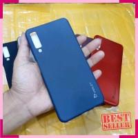 Case Samsung A7 2018 3 Tiga Kamera Soft Case Silikon Violet Samsung A7