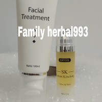 Paket ertos facial treatment dan serum kinclong original BPOM
