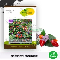 Benih-Bibit Cabe Pelangi Bolivian Rainbow - Haira Seed