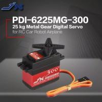 JX PDI-6225MG-300 25kg Metal Gear Digital Servo untuk mobil RC Helicop
