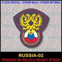 Patch Badge Flock FIFA NEGARA RUSSIA RUSIA [02]