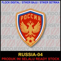 Patch Badge Flock FIFA NEGARA RUSSIA RUSIA [04]