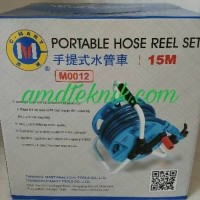 Semprotan Air Selang 15m Portable Set Portable Hose Reel Set C Mar