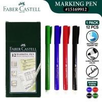Faber-Castell Marking Pen Markpen Spidol Warna Spidol Gambar ATK