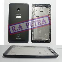 Kesing Asus Zenfone 6 Fullset Hitam T00G A600CG Housing Casing Ori