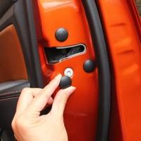 Car Door Lock Screw Protector Cover Baut Pintu Mobil 12Pcs