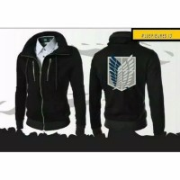 jaket attack on Titan kerah