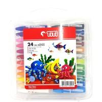 Crayon Krayon Oil Pastel 24 Warna TITI JOYKO