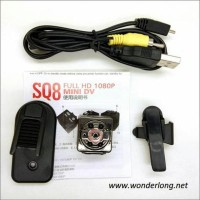 New Kamera Pengintai/Spy Camera Mini Dv Infrared Sq8 Berkualitas