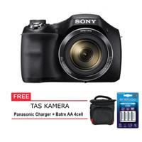 Sony Dsc-H300 Digital Camera Free Battery Rechargeable Dan Tas Kamera