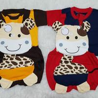 Baju Anak Bayi Baju Kodok Overall Jumsuit Setelan Anak Jerapah
