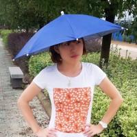 TERLARIS NEW 50 CM Payung Topi - Topi Payung - Payung Kepala