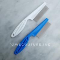 (D9) Sisir Kutu Grooming Anjing Kucing Hewan Pet Dog Cat Flea Tick