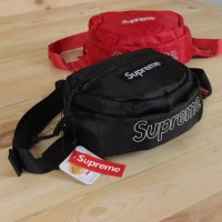 Tas Supreme Waist Bag FW18 Canvas - Premium Super Quality