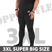 SUPER BIG SIZE 3XL BRAND LEGGING PRIA CELANA PANJANG TRAINING SPORT