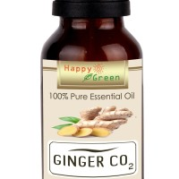 Happy Green Ginger Essential Oil CO2 (10 ml) - Minyak Jahe CO2
