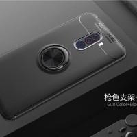 Case Xiaomi Pocophone F1 Autofocus Invisible Iring Soft Case