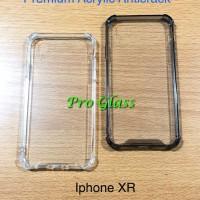 Iphone XR Anticrack / Anti Crack / ACRYLIC Case Silicone Premium