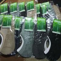 Kaos Kaki Herbal Anti Kesemutan Anti Slip Premium Serat Bambu Arang
