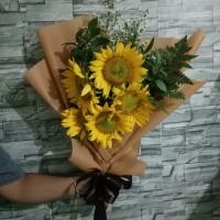 Bunga Wisuda / Buket Bunga / Bunga Matahari