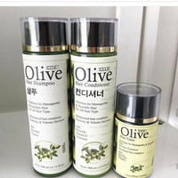 HOT PROMO !!! OLIVE HAIR SET SHAMPOO CONDITIONER HAIR TONIC