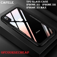 CAFELE IPHONE XS XR XS MAX SUPCASE TPU GLASS ULTRA THIN CASE ORIGINAL
