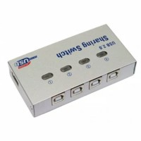 AUTO USB PRINTER SHARING SWITCH 4 PORT