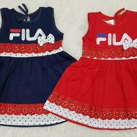 Baju Dress Anak Bayi Perempuan Baju Pesta Kondangan Fila