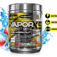 Best Muscletech Vapor X5 Ripped Preworkout Fitness n Gym Suplemen mal