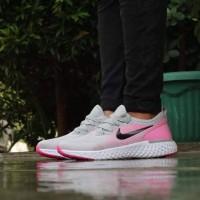 Nike Epic React Grade Original / Sepatu Pink Wanita Running Gym