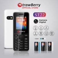 STRAWBERRY ST22 HP / HANDPHONE CANDYBAR MURAH GARANSI RESMI ST 22