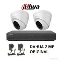 PAKET CCTV DAHUA 2CH 2MP FULL HD HARDISK 1TB LENGKAP