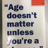 Book - Age doesn't Matter Unless you're CHESSE