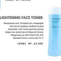 Wardah Lightening Toner