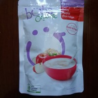 Bubur bayi organik Bubs Organic Baby Apple Porridge 125g