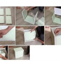 jual cube box tanpa pintu - rak tempat buku majalah koran mainan