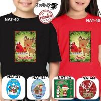 Kaos anak motif Natal / Kaos bayi Natal/ Kaos Natal
