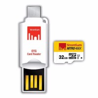 SPECIAL EDITION Strontium 32GB NITRO MicroSD with OTG Card Rea Limited